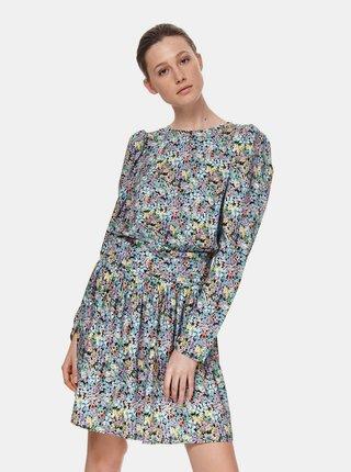 Svetlomodré kvetované šaty TOP SECRET