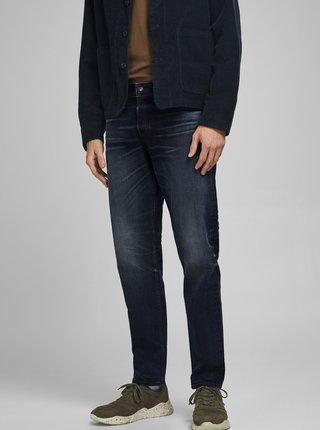 Tmavě modré slim džíny Jack & Jones Mike