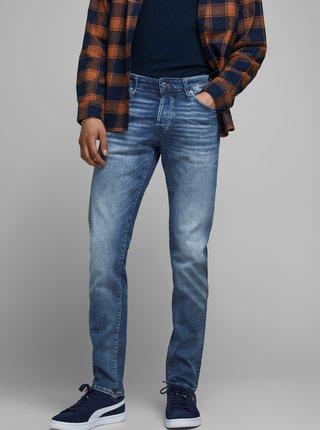 Modré slim džíny Jack & Jones Glenn