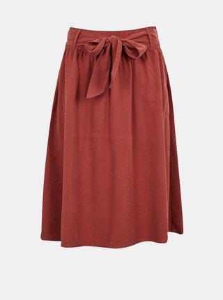 Cihlová sukně ONLY Manhattan -Mago