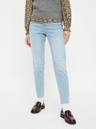 Světle modré mom džíny Pieces Leah