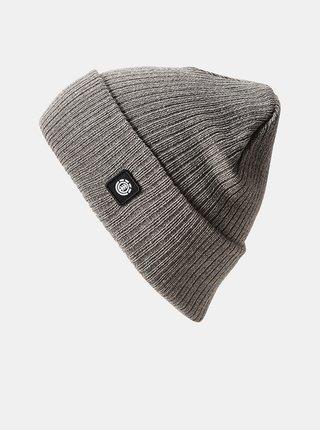 Element FLOW grey heather pánská čepice - šedá