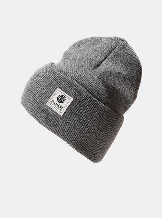 Element DUSK grey heather pánská čepice - šedá