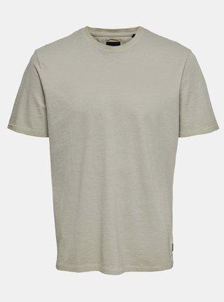 Kaki tričko ONLY & SONS Millenium