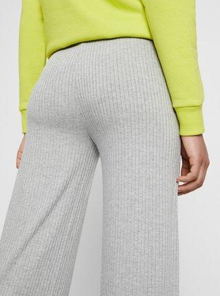 Světle šedé kalhoty Pieces Molly