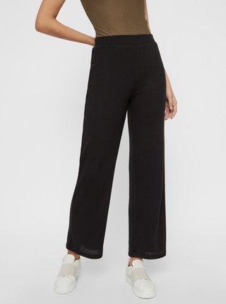 Čierne nohavice Pieces Molly