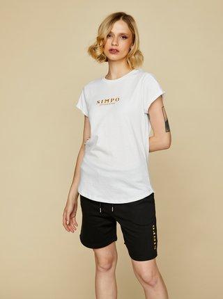Biele dámske tričko Simpo Bottle