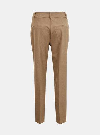 Světle hnědé kalhoty Selected Femme Ria