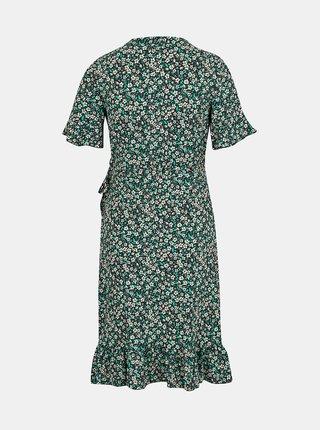 Šaty na denné nosenie pre ženy VERO MODA - zelená, čierna