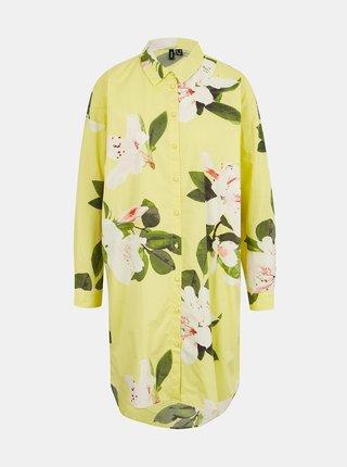Letné a plážové šaty pre ženy VERO MODA - žltá