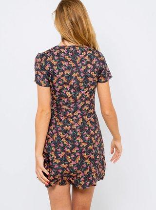 Šedé květované šaty CAMAIEU