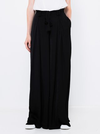 Čierne široké nohavice CAMAIEU