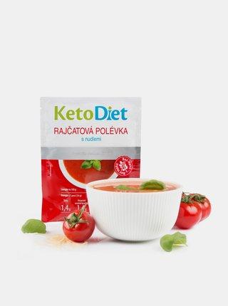 Proteinová polévka rajčatová s nudlemi KetoDiet (7 porcí)