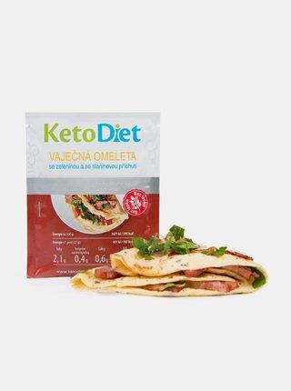 Proteinová omeleta se slaninovou příchutí KetoDiet (7 porcí)