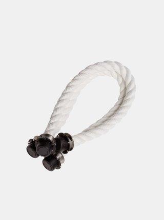 Bílá krátká provazová držadla O bag