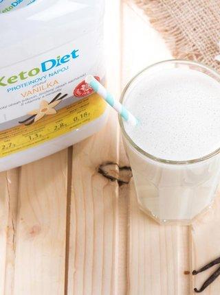 Proteinový nápoj s vanilkovou příchutí na 1 týden KetoDiet (35 porcí)