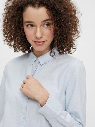 Svetlomodrá košeľa Pieces Irena