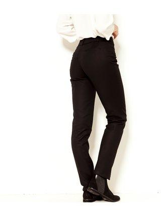 Černé slim fit kalhoty CAMAIEU