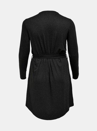 Čierne šaty ONLY CARMAKOMA Carma