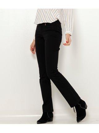 Černé bootcut kalhoty CAMAIEU