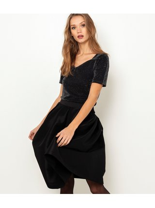 Čierna sukňa CAMAIEU