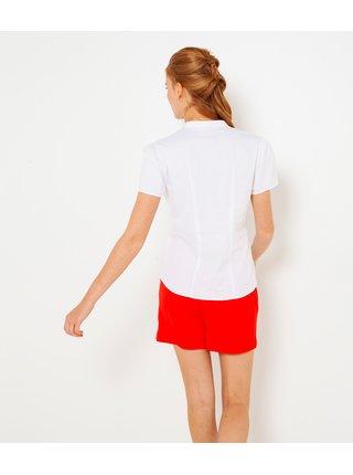 Bílá halenka s krátkým rukávem CAMAIEU