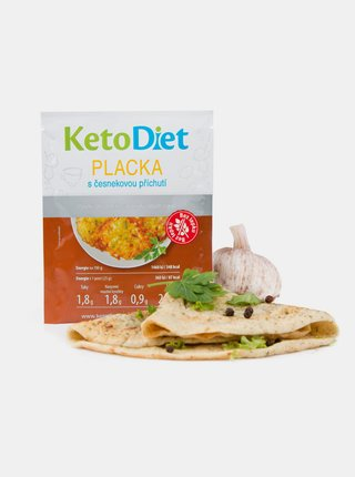 Proteinová placka s česnekovou příchutí KetoDiet (7 porcí)