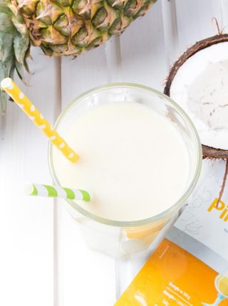 Proteinový nápoj s příchutí Piňa Colada KetoDiet (7 porcí)