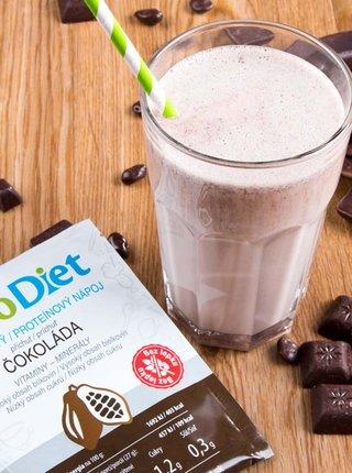 Proteinový nápoj s čokoládovou příchutí KetoDiet (7 porcí)