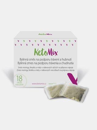 Bylinná směs s moringou na podporu trávení a hubnutí KetoMix (18 sáčků)