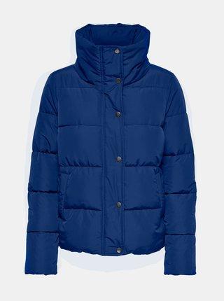 Modrá prešívaná bunda ONLY Cool