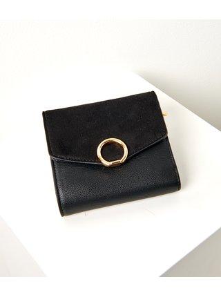 Čierna peňaženka CAMAIEU