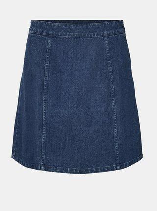Tmavě modrá džínová sukně Noisy May Peri