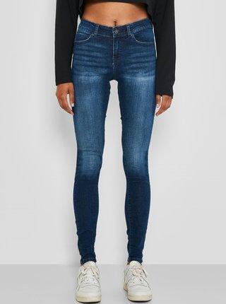 Tmavě modré skinny džíny Noisy May Lucy