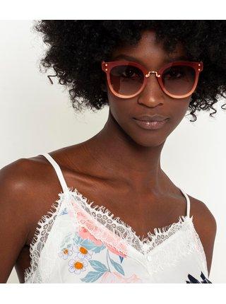 Starorůžové sluneční brýle CAMAIEU