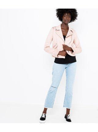 Světle růžová lehká bunda CAMAIEU