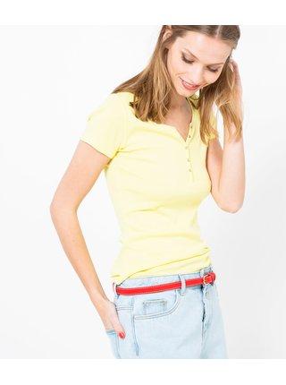 Žluté tričko CAMAIEU