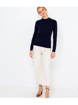 Tmavomodrý ľahký sveter CAMAIEU