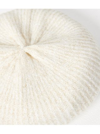 Bílá čepice CAMAIEU