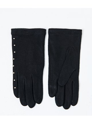 Čierne rukavice CAMAIEU
