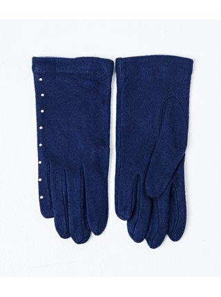 Modré rukavice CAMAIEU