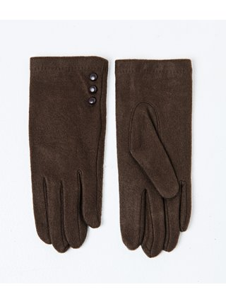 Hnedé rukavice CAMAIEU