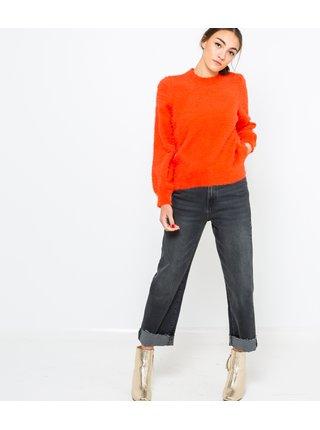 Oranžový sveter CAMAIEU