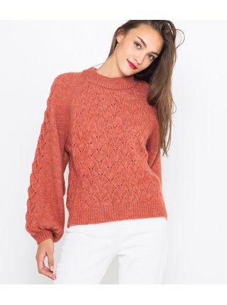 Tehlový sveter CAMAIEU