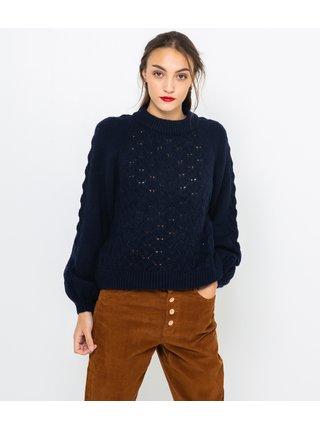 Tmavomodrý sveter CAMAIEU