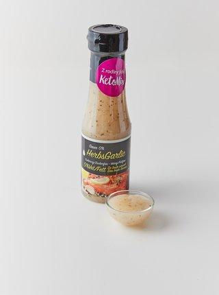 Česnek a bylinky dresink bez kalorií KetoMix (250 ml)