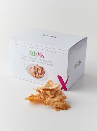 Proteinové nachos s příchutí slaniny KetoMix (4 porce)