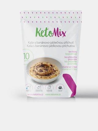 Proteinová kaše s banánovo-jablečnou příchutí KetoMix (10 porcí)