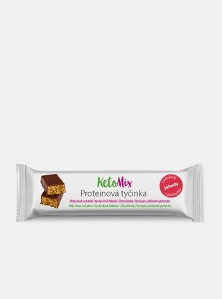 Proteinové tyčinky s jahodovou příchutí KetoMix (16 x 40 g)