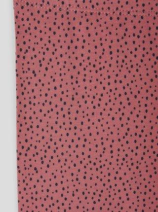 Růžové puntíkované holčičí legíny name it Vivian